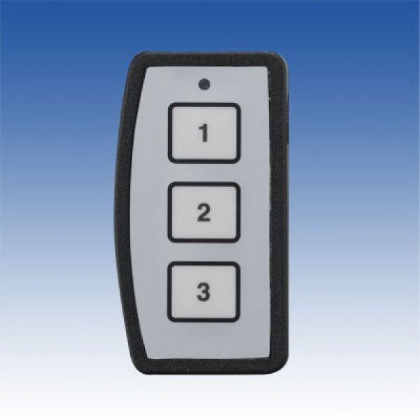 画像1: ワイヤレスリモコンスイッチ/ワイヤレスリモコンスイッチ〔2CH×3点式〕(送信機)/DR-243T (1)