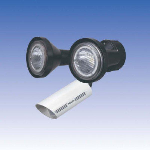 画像1: LED人感・音感ライト/LCL-102W(W) (1)